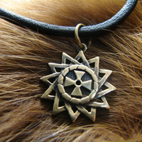 Ertsgamma Star, Amulet, Talisman, ancient christian star, pendant ertsgamma, Gift for men, woman, girl, A religious symbol