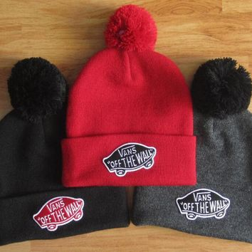 VANS Woman Men Fashion Beanies Winter Knit Hat Cap