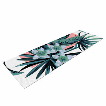 "Kess Original ""Monstera"" Nature Pop Art Yoga Mat"