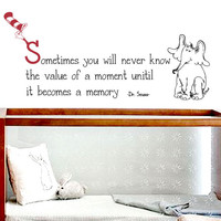 Dr. Seuss Quote III Wall Decal