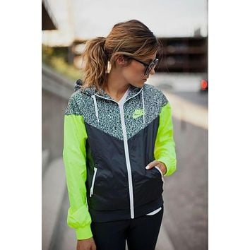 nike fashion hooded zipper cardigan jacket coat