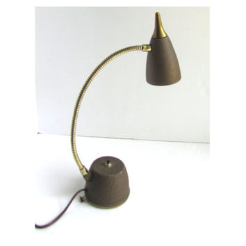 Atomic Era Desk Lamp Goose Neck