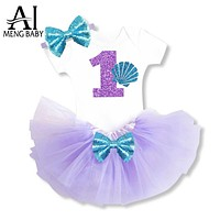 Girls Clothes Infant Princess Clothing Sets Clothes Outfits Wearing Baby Dress