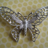 Vintage Sarah Coventry Butterfly Brooch