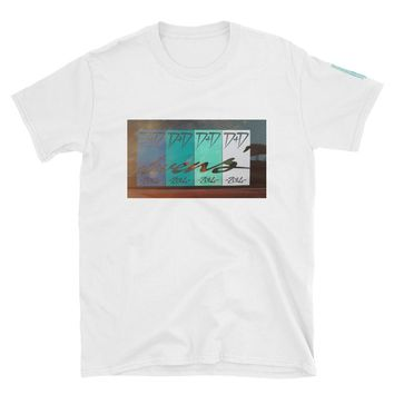 Drift & Drag Throwback Short-Sleeve Unisex T-Shirt