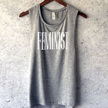 Feminist Muscle Tank Top