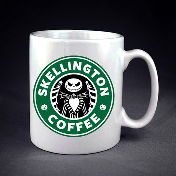 Starbucks Nightmare ,Before Christmas Jack skellington Starbucks Personalized mug/cup