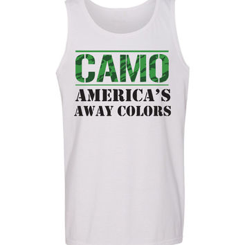 'Camo: America's Away Colors' Tank Top