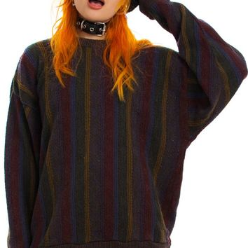 Vintage 90's Desert Stripe Sweater - One Size Fits Many