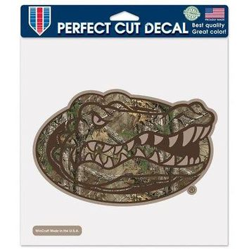 """Licensed Florida Gators Official NCAA 8""""x8"""" Camo Die Cut Car Decal by Wincraft 037916 KO_19_1"""