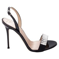 Giuseppe Zanotti Design Women's E70094002 Black Leather Sandals