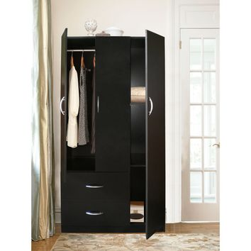 Three-Door Wardrobe By Home Source