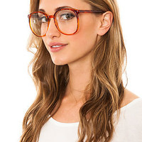 Replay Vintage Sunglasses Glasses Hot For Teacher in Brown