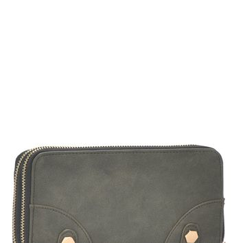 I Want It All Wallet - Olive