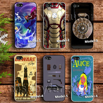 disney frozen case,iron man body case, vintage phone case, vintage poster disney case, supernatural case, alice and wonderland case