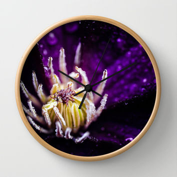 The jellyfish Wall Clock by HappyMelvin