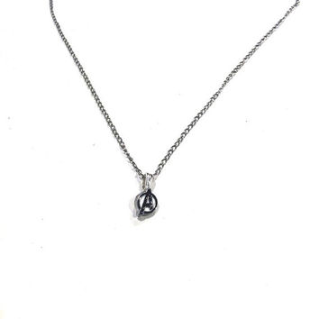 Teeny Tiny Dainty Avengers Charm Necklace
