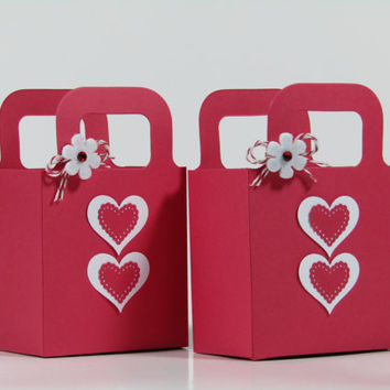 Valentine's Day Candy Favor Bags