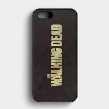 Walking Dead Daryl Mixon iPhone SE Case