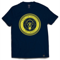 Born For Greatness Bulb Tee in Navy
