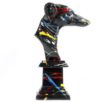 Abstract Hound Bust