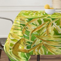 Rosie Brown Fronds Tablecloth