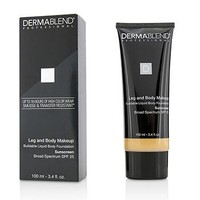 Dermablend Leg and Body Make Up Buildable Liquid Body Foundation Sunscreen Broad Spectrum SPF 25 - #Light Sand 25W Make Up