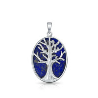 Bling Jewelry Shimmer Tree Pendant