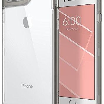 iPhone 8 Plus Case / iPhone 7 Plus Case Caseology [Skyfall Series] Slim Transparent Clear Scratch Resistant Protective Cover for Apple iPhone 8 Plus (2017) / iPhone 7 Plus (2016) - Warm Gray