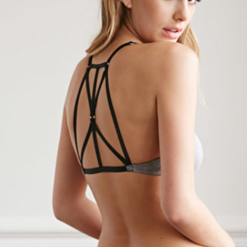Strappy-Back Bralette