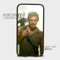 Daryl Dixon the Walking Dead Rubber Cases for iPhone 4,4S, iPhone 5,5S, iPhone 5C, iPhone 6, iPhone 6 Plus, Samsung Galaxy S3, Samsung Galaxy S4, Samsung Galaxy S5  phone case design