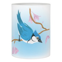 Blue Jay Flameless Candle