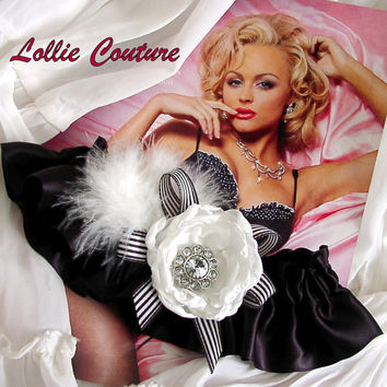 Wedding Garters  Bridal Garters  2 piece set by lolliecouture
