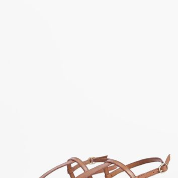 Boutique Lara Plain Toe Thong Leather Sandals | Boohoo