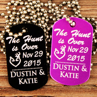 """""""The Hunt Is Over"""" Customized Necklace"""