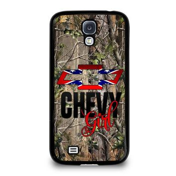 CAMO BROWNING REBEL CHEVY GIRL Samsung Galaxy S4 Case Cover