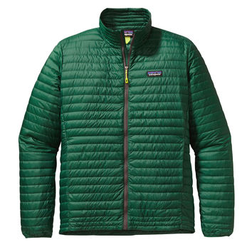 PATAGONIA MEN'S DOWN SHIRT IN HUNTER GREEN