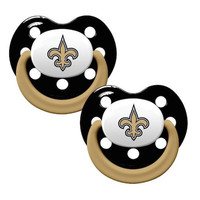 New Orleans Saints 2pk Baby Pacifier