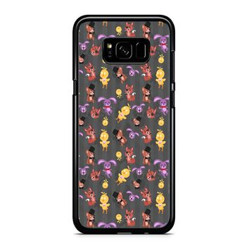 Five Nights At Freddy S Fnaf Pattern Samsung Galaxy S8 Plus Case