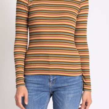 Rainbow Road Long Sleeve Top