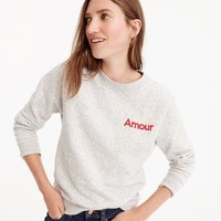 """Amour"" sweatshirt : Women just in 