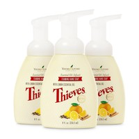 Young Living Thieves Foaming Hand Soap - 8 Ounces (Pack of 3)