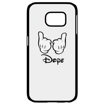 Mickey Mouse Obey Dope Samsung Galaxy S6 Edge Case