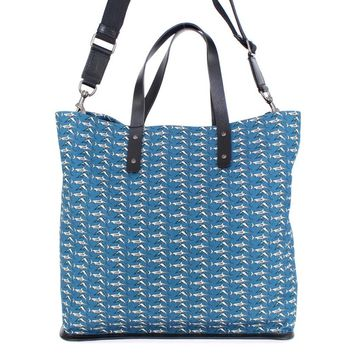 Dolce & Gabbana Blue denim tote bag