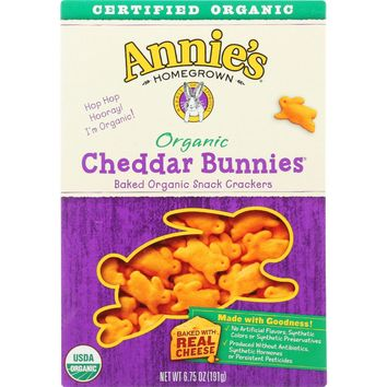 Annie's Homegrown Organic Cheddar Bunnies - 6.75 oz