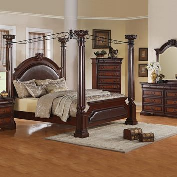 Neo Renaissance Canopy King Bedroom Set