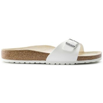 Birkenstock Madrid Birko Flor White 40733 Sandals - Ready Stock