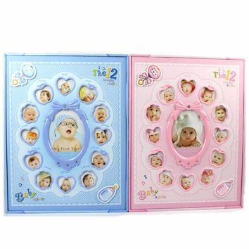 Children Grow Up Baby Photo Album