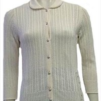 New Liz Claiborne Cream Sweater nwt