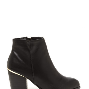 Sleek In The City Chunky Booties